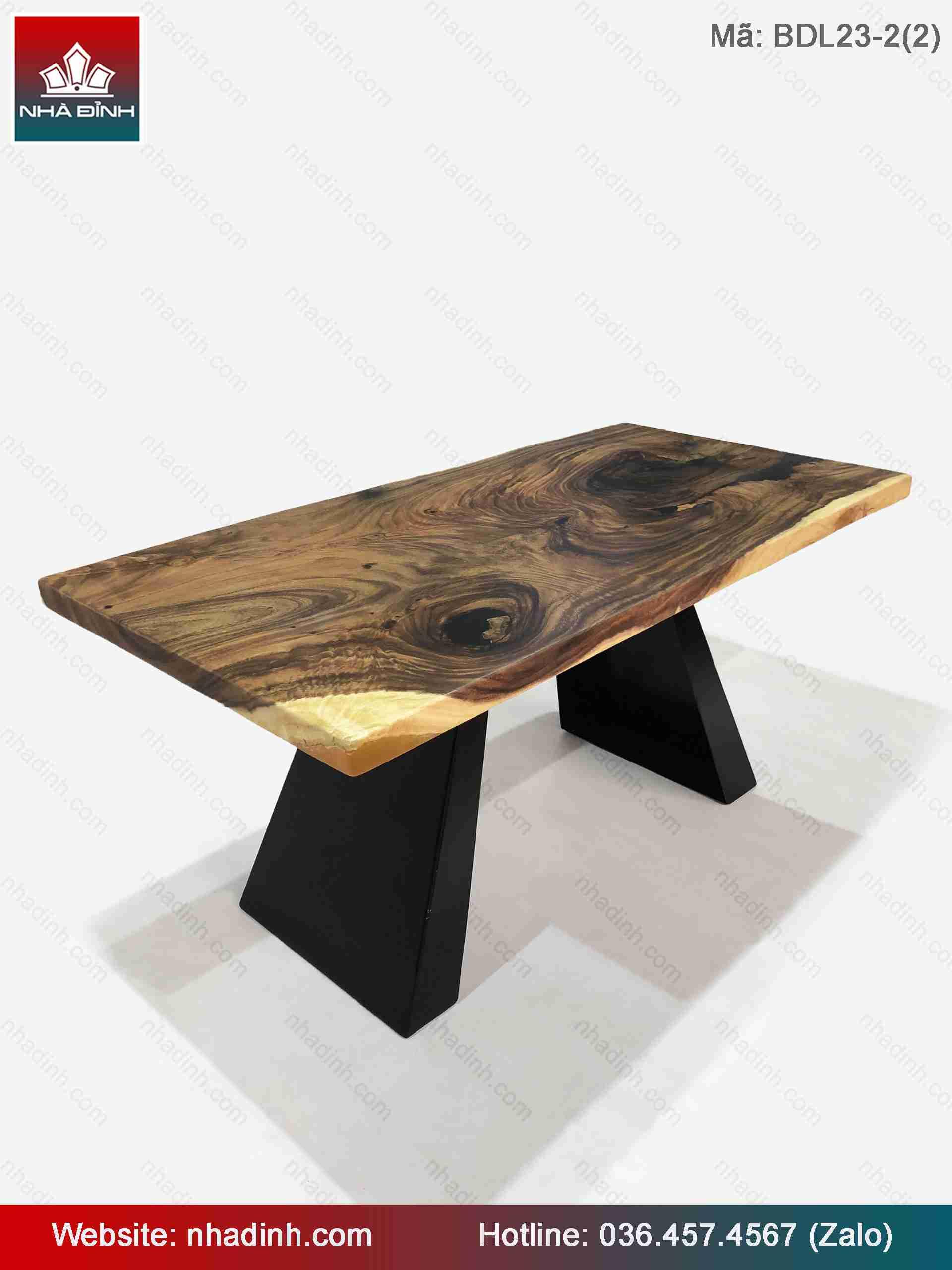 Mẫu bàn ghế gỗ Me Tây cho nhà hàng đẹp - chất lượng sản phẩm tốt