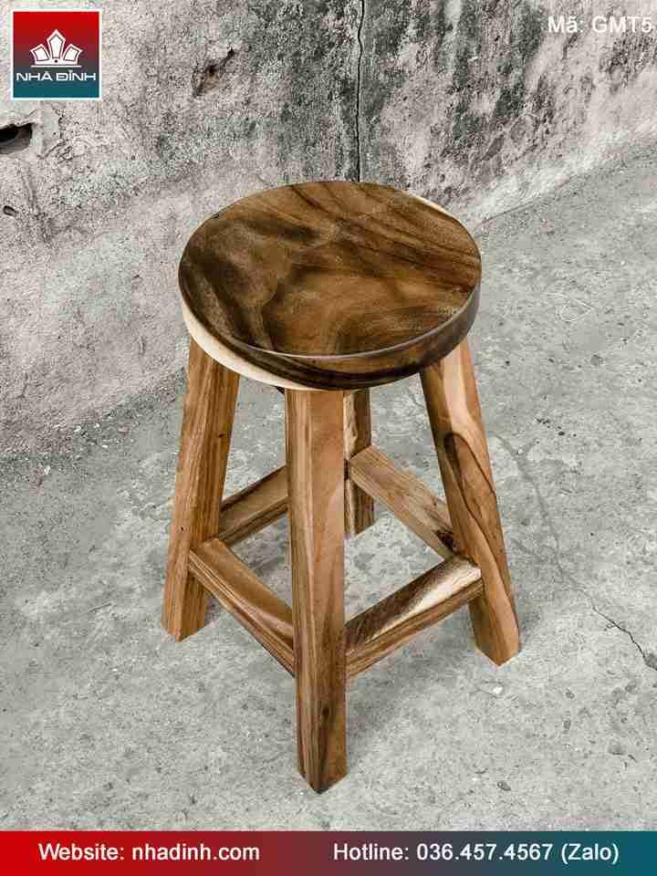Ghế gỗ Me Tây